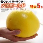 ショッピングフルーツ 完熟メロゴールド 特大(5玉/約4kg)アメリカ産 グレープフルーツ 送料無料
