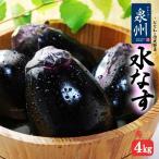 ハウス栽培 泉州水なす A/B秀ランク(約4kg)大阪産 水茄子 水ナス