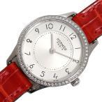 エルメス HERMES スリム ドゥ エルメス CA2.130 クォーツ ダイヤベゼル レディース 腕時計(未使用)