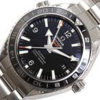 オメガ OMEGA シーマスター プラネットオーシャン GMT 232.30.44.22.01.001 自動巻き ブラック メンズ 腕時計(未使用)