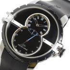 ジャケ・ドロー JAQUET DROZ グランセコンドSW J029030 自動巻き SS セラミック ブラック メンズ 腕時計 中古