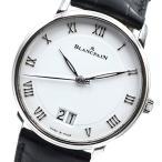 ブランパン BLANCPAIN ヴィルレ 6669-1127 ホワイト 腕時計 メンズ 中古