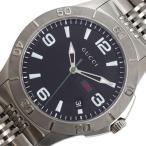 グッチ GUCCI Gタイムレス YA126218 クォーツ ブラック メンズ ウォッチ 腕時計(中古)