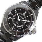 シャネル CHANEL J12 38mm H0685 ブラックセラミック 自動巻き メンズ 腕時計(中古)