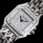 カルティエ Cartier パンテールSM クォーツ WG無垢 ダイヤモンド レディース 腕時計(中古)