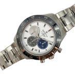 ゼニス ZENITH クロノマスター 03.3100.3600 ホワイト 自動巻き メンズ 腕時計 中古