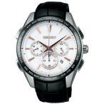 セイコー ブライツ SAGA217 メンズ 腕時計 クロノグラフ チタン フライト エキスパート SEIKO ソーラー電波時計 新品