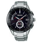 セイコー ブライツ SAGA241 メンズ 腕時計 フライトエキスパート デュアルタイム コンフォテックス チタン SEIKO ソーラー電波時計 新品
