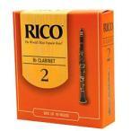 RICO リード Bbクラリネット 強度 2 10枚入 アンファイルド RCA1020