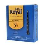 RICO ロイヤル リード Bbクラリネット 強度 3 10枚入 ファイルド RCB1030