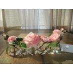 エミリオ ロバ  ピンク薔薇 アレンジメント
