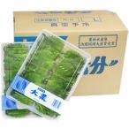 【箱売り】 大葉(青ジソ・しそ) 1箱(100枚入り1p×20p:計2000枚) 【業務用・大量販売】