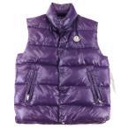 モンクレール ジード ナイロンダウンベスト メンズ 紫 1 ジップアップ GIDE MONCLER