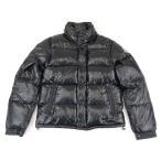 美品 モンクレール エヴェレスト ダウンジャケット メンズ 黒 0 ロゴワッペン 収納フード EVEREST MONCLER