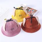 バケットハットファー帽子ハット帽子ボアニット帽子ベビー帽子キッズ帽子もこもこ赤ちゃんベビー防寒出産祝い男児女児兼用ジュニア