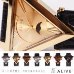 アライブ腕時計 アライブ ALIVE WATCH 時計 watch 腕時計 ALIVE ATHLETICS aframemoonphase