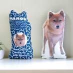 犬 猫 ペット 動物 柴犬 クッション ぬいぐるみ インテリア メモリアル プレゼント オーダーメイド 画像 写真 名前 唐草-柴-02-02