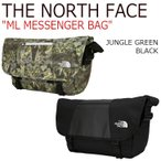 �Ρ����ե����� �����Хå� THE NORTH FACE ML MESSENGER BAG ��å��󥸥㡼�Хå� JUNGLE GREEN ����󥰥륰�꡼�� BLACK �֥�å� NN2PJ02A/C �Хå�