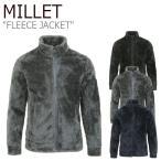 ミレー フリース MILLET メンズ FLEECE JACKET アリ ジャケット BLACK ブラック GREY グレー NAVY ネイビー MIOWJ431 ウェア