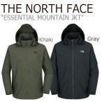 ノースフェイス アウター THE NORTH FACE メンズ ESSENTIAL MOUNTAIN JKT エッセンシャル マウンテンジャケット カーキ ダークグレー NJ3BI51C NJ3BI51A ウェア