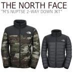 ノースフェイス ダウン THE NORTH FACE メンズ M'S NUPTSE 2-WAY DOWN JACKET ヌプシ ツーウェイ ダウンジャケット NJ1DJ59A/B リバーシブル ウェア