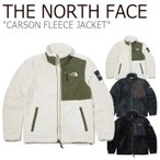 フリース ノースフェイス THE NORTH FACE CARSON FLEECE JACKET カーソン フリースジャケット ダークグレー オートミール ブラック NJ4FK52J/K/L ウェア