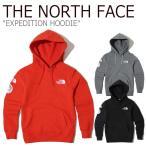 ノースフェイス パーカー THE NORTH FACE メンズ EXPEDITION HOODIE エクスペディション フーディー レッド グレー ブラック NM5PK00A/B/C ウェアの画像