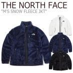 ノースフェイス フリース THE NORTH FACE メンズ M'S SNOW FLEECE JKT スノー フリースジャケット アイボリー ネイビー ブラック NN4FK51A/B/C ウェア