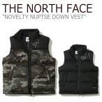 ノースフェイス ダウン THE NORTH FACE メンズ レディース NOVELTY NUPTSE DOWN VEST ノベルティー ヌプシ ダウンベスト カーキ ブラック NV1DJ54J/K ウェア