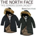 ノースフェイス アウター THE NORTH FACE メンズ M'S SOMERS DOWN JACKET ソマーズ ダウンジャケット Black Dark Khaki ブラック ダークカーキ NYJ1DH52 ウェア
