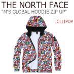 ショッピングNORTH ノースフェイス アウター THE NORTH FACE メンズ MEN'S GLOBAL HOODIE ZIP UP グローバル フーディー ジップアップ LOLLIPOP ロリポップ NJ5JI54C ウェア