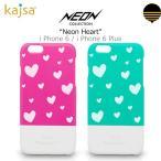 お取り寄せ iPhone6 6 Plus ケース カバー kajsa Neon Heart バー ケース カバー for iPhone6 iPhone 6 Plus スマホケース
