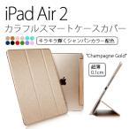 iPad Air 2 ケース カバー カラフルスマートケースカバー for iPadAir 2