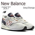 New Balance 997 Grey Orange ニューバランス M997CSEA MADE IN USA スニーカー シューズ