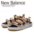 ニューバランス サンダル New Balance メンズ レディース SD 3205 YE2 BEIGE ベージュ SD3205YE2 シューズの画像