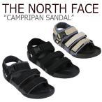 ノースフェイス サンダル THE NORTH FACE メンズ レディース CAMPRIPAN SANDAL キャンプリパン サンダル GREY×BLACK BLACK×BLACK BEIGE NS98J19J/K/S シューズの画像