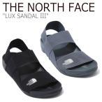 ノースフェイス サンダル THE NORTH FACE メンズ レディース LUX SANDAL III ラックス サンダル3 GRAY BLACK グレー ブラック NS98K01K/L シューズの画像