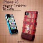 ショッピング4s IPHONE4S ケース ZENUS iPhone 4S マステージ チェックポイント バー シリーズ