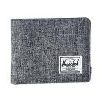 ハーシェル サプライ Herschel Supply Co. Hank RFID レディース 財布 Raven Crosshatch/Black Synthetic Leather