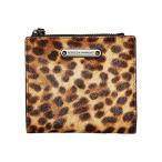 レベッカミンコフ Rebecca Minkoff Bifold Snap Wallet レディース 財布 Leopard