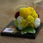 和風プリザーブドフラワーのボール型リングピロー|ウェディングや和の結婚式におすすめ。