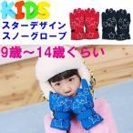 スターデザイン スノーグローブ スキーグローブ 子供用 キッズ 防寒 男の子 女の子 手袋 ジュニア