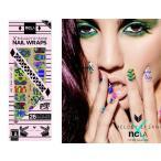 メール便送料無料/NCLA(エヌシーエルエー)Wax Print/ネイルシール/ネイルラップ/NAIL WRAPS/26本分
