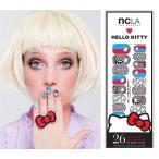 メール便送料無料/NCLA×ハローキティ(エヌシーエルエー)3D柄ネイルシール/Hello Kitty 3D/ネイルラップ/NAIL WRAPS/26本分