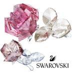 スワロフスキー(SWAROVSKI)ブロッサミング ローズ Light Pink/薔薇のクリスタルオブジェ/Blossoming Rose/スワロフスキー社製置物