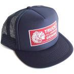 ショッピングBrand トラックブランド(Truck Brand)インディアン柄メッシュキャップ/ブラック