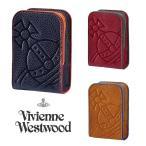 ヴィヴィアンウエストウッド(Vivienne Westwood)イタリアンレザー オーブ刻印シガレットケース/煙草ケース