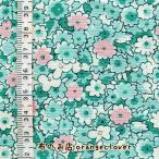 布 生地 30's Windham Storybook VIII (グリーン 花柄)10cm単位カット