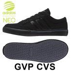 アディダス GVP CVS スニーカー メンズ レディース シューズ ローカット カジュアル 靴 黒 ブラック 男性 女性 adidas NEO 送料無料