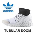 アディダス オリジナルス チュブラー ドゥーム スニーカー レディース メンズ シューズ 靴 白 ホワイト adidas Originals TUBULAR DOOM BA7554 送料無料